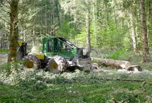 Tracteur-Foret-Haute-savoie