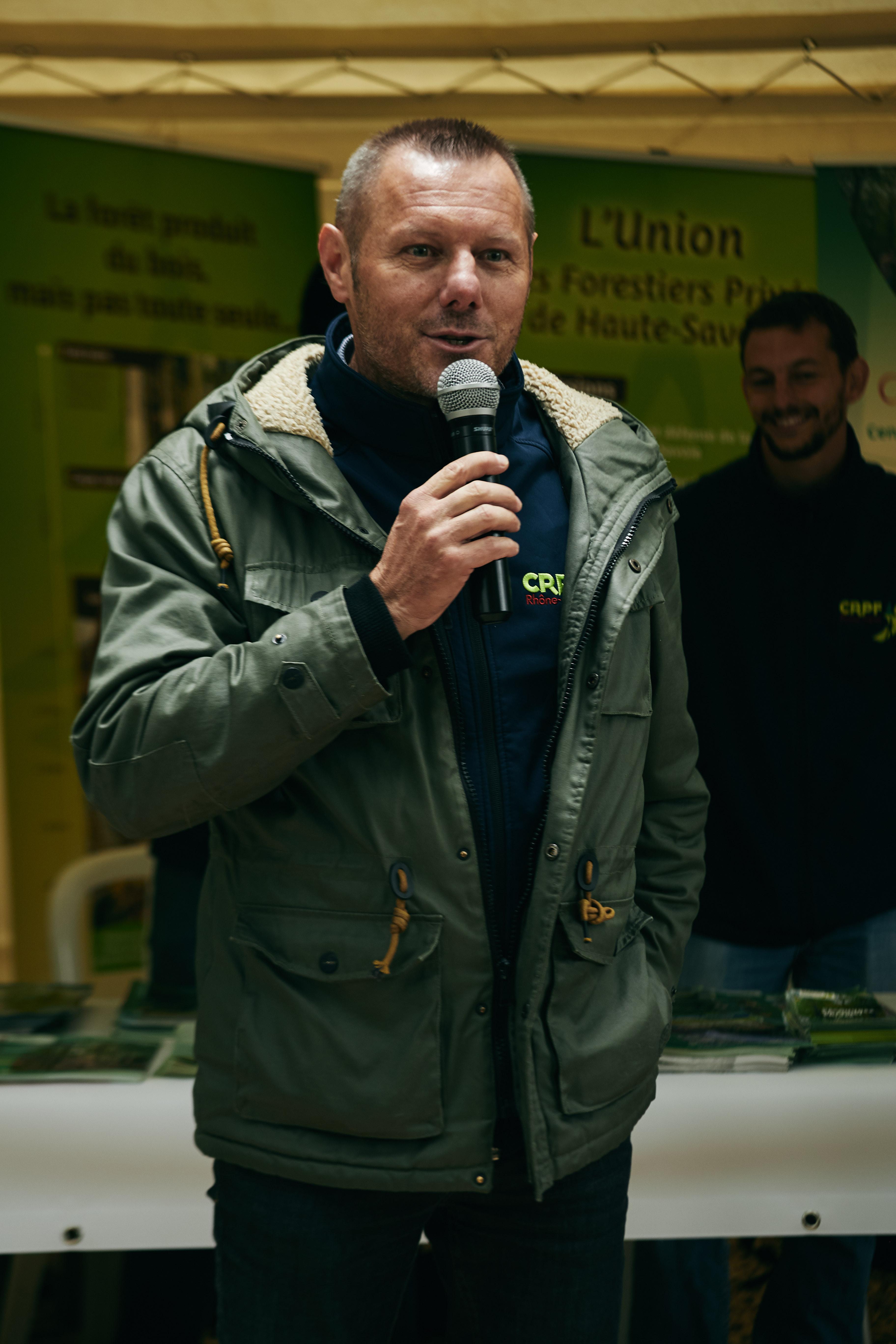 Sylvain OUGIER du CRPF