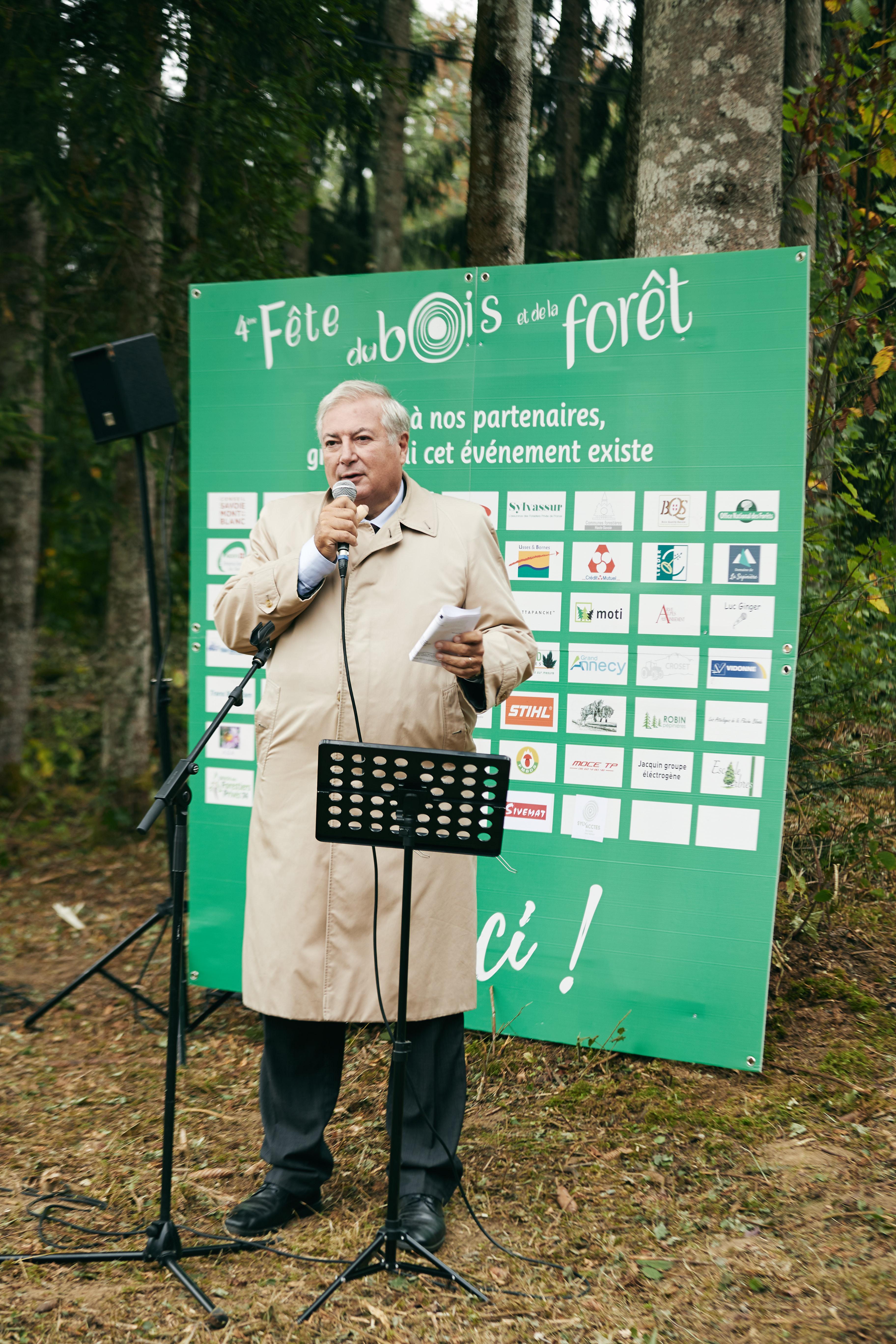 discours de Mr le Préfet Pierre LAMBERT
