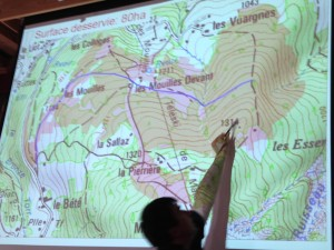 projet route forestiere des mouilles